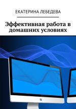 скачать книгу Эффективная работа в домашних условиях автора Екатерина Лебедева