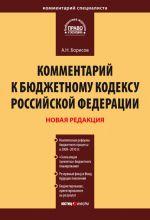 скачать книгу Комментарий к Бюджетному кодексу Российской Федерации автора Александр Борисов