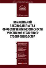 скачать книгу Комментарий законодательства об обеспечении безопасности участников уголовного судопроизводства автора Леонид Брусницын