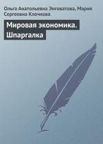 скачать книгу Мировая экономика. Шпаргалка автора Мария Клочкова