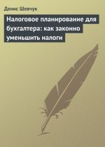скачать книгу Налоговое планирование для бухгалтера: как законно уменьшить налоги автора Денис Шевчук