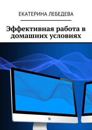 обложка книги Эффективная работа в домашних условиях автора Екатерина Лебедева