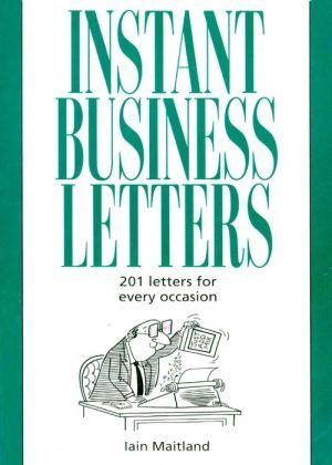 обложка книги Instant Business Letters автора Iain Maitland